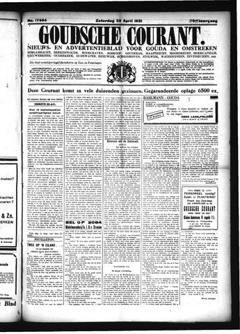 Goudsche Courant 1931-04-25