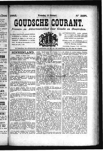 Goudsche Courant 1885-02-18