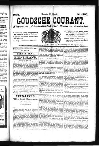 Goudsche Courant 1892-03-28