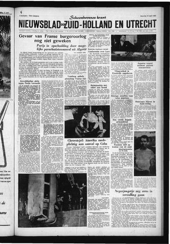 Schoonhovensche Courant 1961-04-24