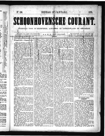 Schoonhovensche Courant 1873-01-19