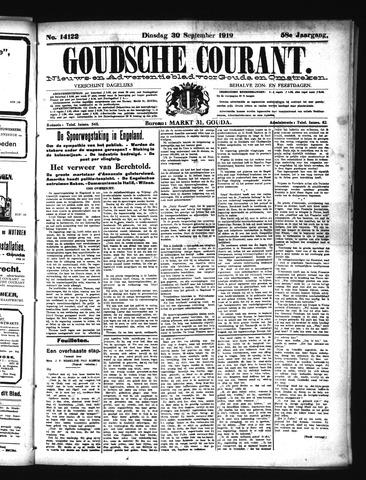 Goudsche Courant 1919-09-30