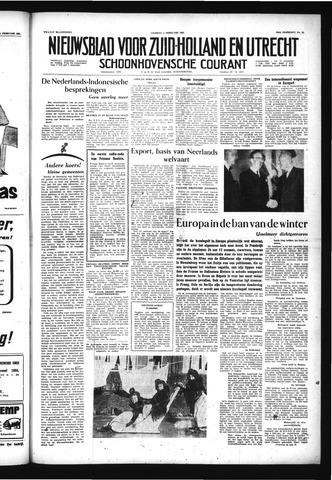 Schoonhovensche Courant 1956-02-03