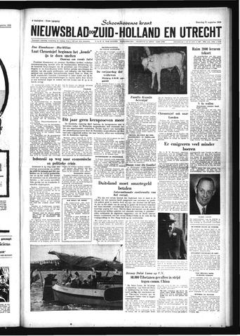 Schoonhovensche Courant 1959-08-31