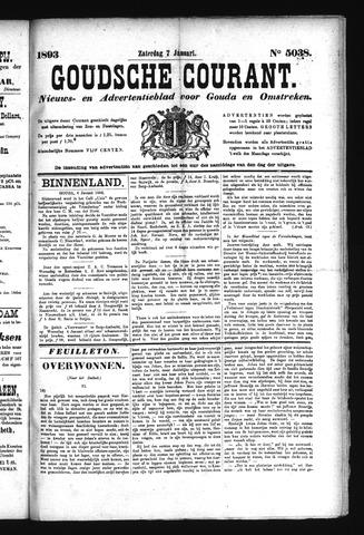 Goudsche Courant 1893-01-07