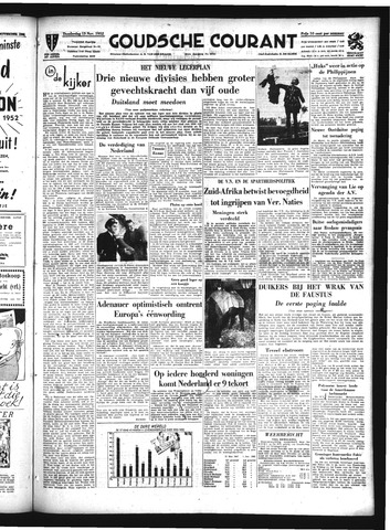 Goudsche Courant 1952-11-13