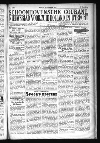 Schoonhovensche Courant 1927-08-05