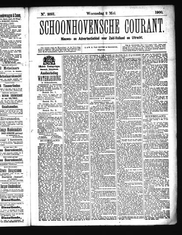 Schoonhovensche Courant 1900-05-02