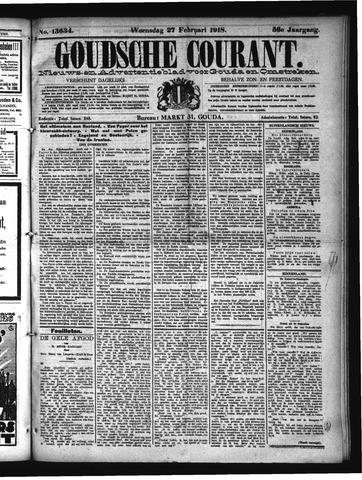 Goudsche Courant 1918-02-27