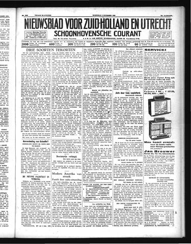 Schoonhovensche Courant 1938-11-02