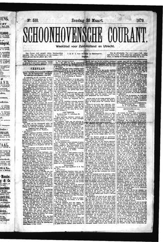 Schoonhovensche Courant 1879-03-23