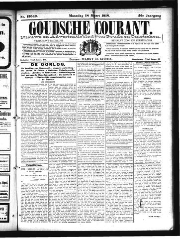 Goudsche Courant 1918-03-18