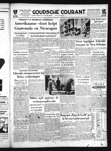 Goudsche Courant 1960-11-18