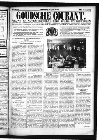Goudsche Courant 1936-04-06