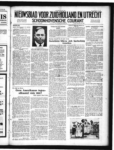 Schoonhovensche Courant 1950-07-24