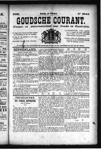 Goudsche Courant 1889-02-19