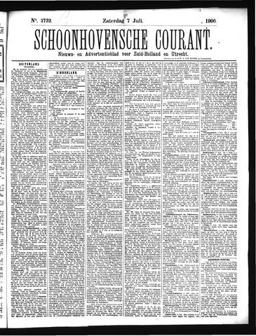 Schoonhovensche Courant 1906-07-07