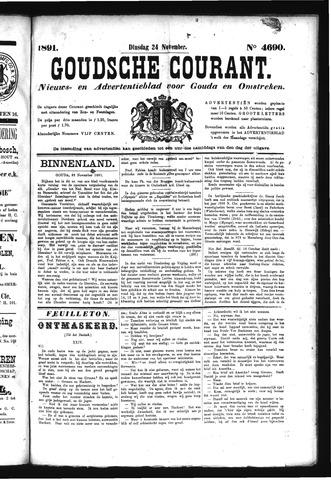Goudsche Courant 1891-11-24