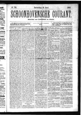 Schoonhovensche Courant 1883-06-16