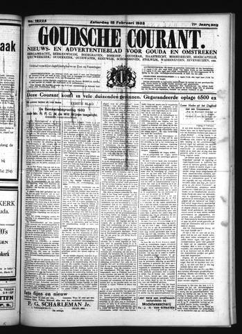 Goudsche Courant 1933-02-18