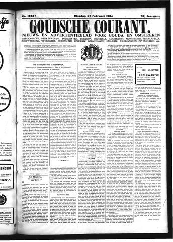 Goudsche Courant 1934-02-27
