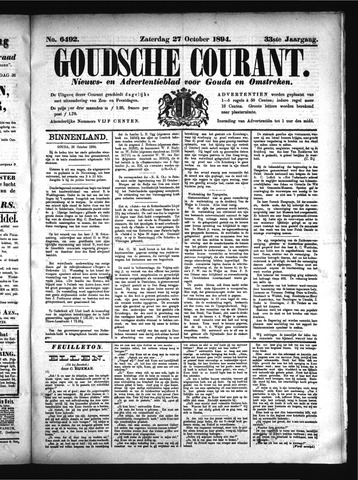 Goudsche Courant 1894-10-27