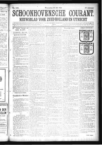 Schoonhovensche Courant 1926-07-28