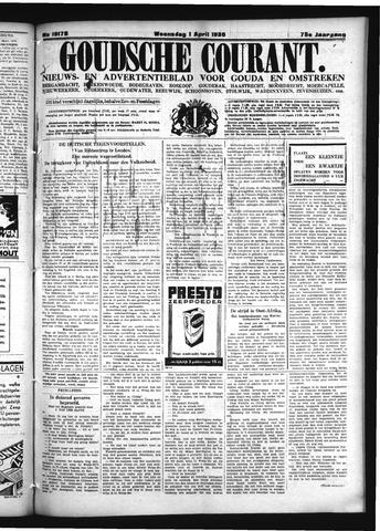 Goudsche Courant 1936-04-01