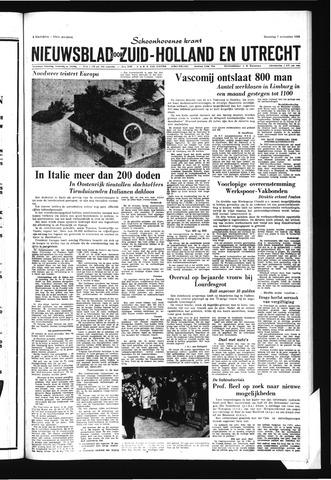 Schoonhovensche Courant 1966-11-07