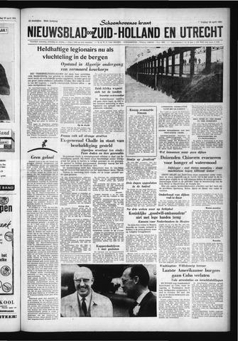 Schoonhovensche Courant 1961-04-28