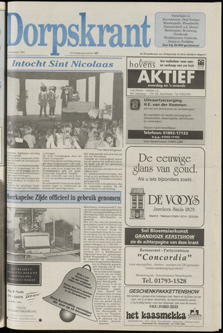 Dorpskrant 1991-11-27