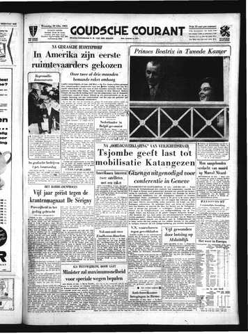 Goudsche Courant 1961-02-22
