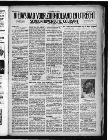 Schoonhovensche Courant 1948-01-28