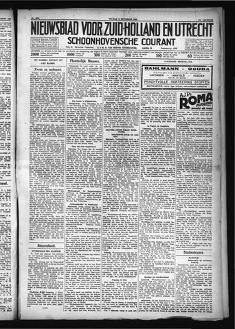 Schoonhovensche Courant 1929-09-13