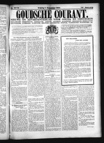 Goudsche Courant 1934-12-07