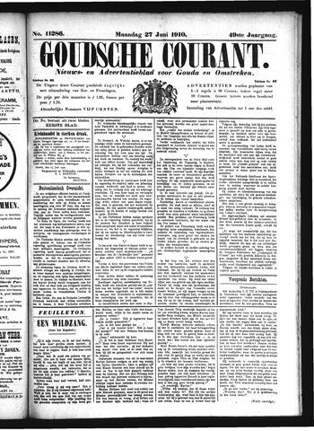 Goudsche Courant 1910-06-27