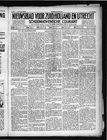 Schoonhovensche Courant 1938-01-24