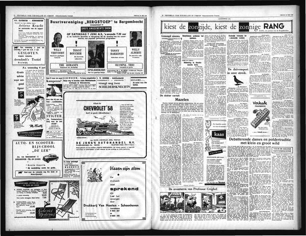 Schoonhovensche Courant 1958-06-07