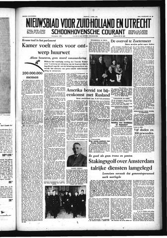 Schoonhovensche Courant 1955-04-01
