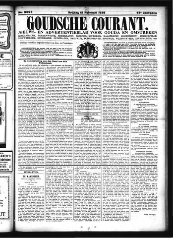 Goudsche Courant 1926-02-12