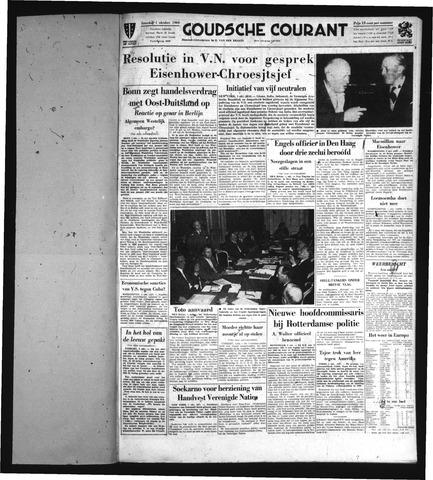 Goudsche Courant 1960-10-01