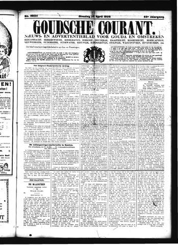 Goudsche Courant 1926-04-13