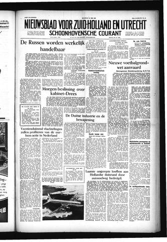 Schoonhovensche Courant 1955-05-16