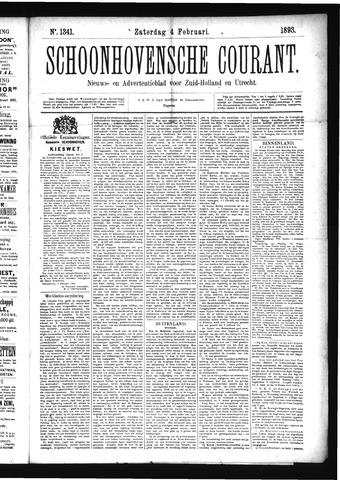 Schoonhovensche Courant 1893-02-04