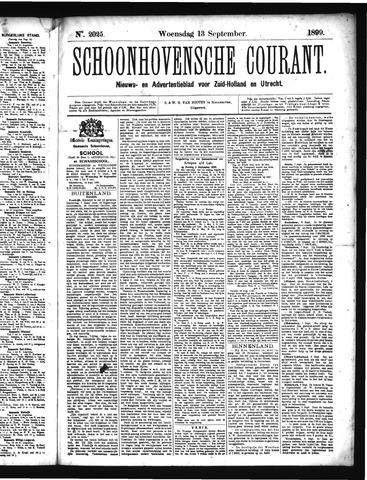 Schoonhovensche Courant 1899-09-13
