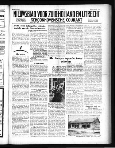 Schoonhovensche Courant 1952-07-16