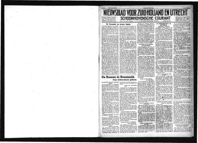 Schoonhovensche Courant 1940-07-01