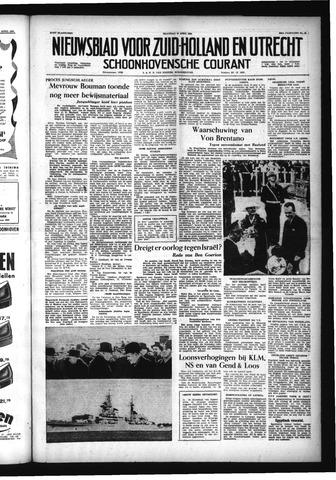 Schoonhovensche Courant 1956-04-16
