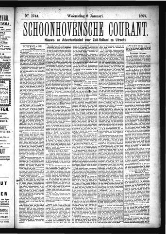 Schoonhovensche Courant 1897-01-06