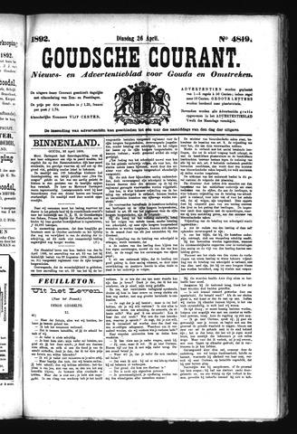 Goudsche Courant 1892-04-26